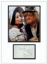 Una Stubbs Autograph Signed Display - Worzel Gummidge